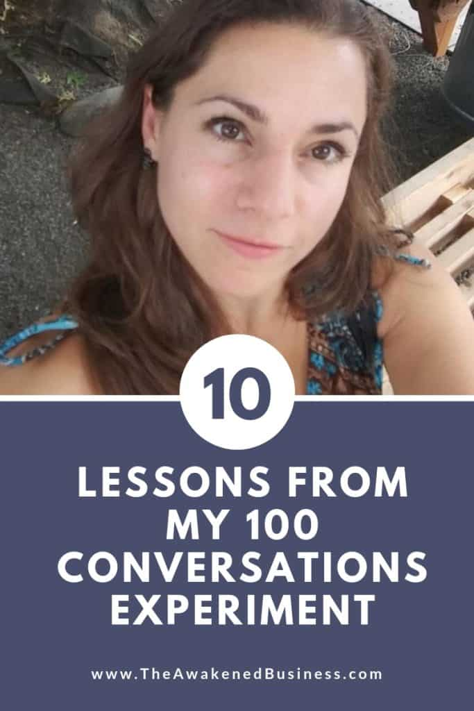 Stephanie Benedetto Padovani's 100 Conversations