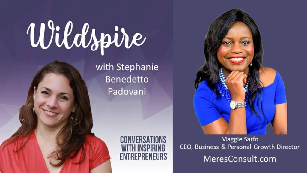Maggie Sarfo on the Wildspire podcast