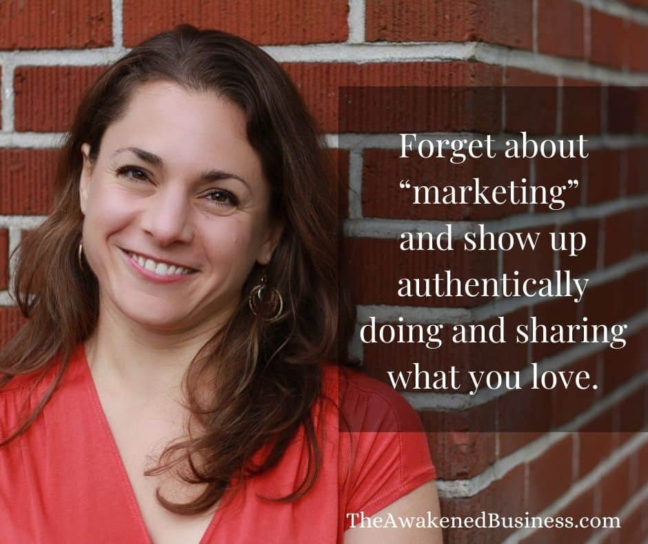 Un-marketing with Stephanie Benedetto Padovani and The Awakened Business