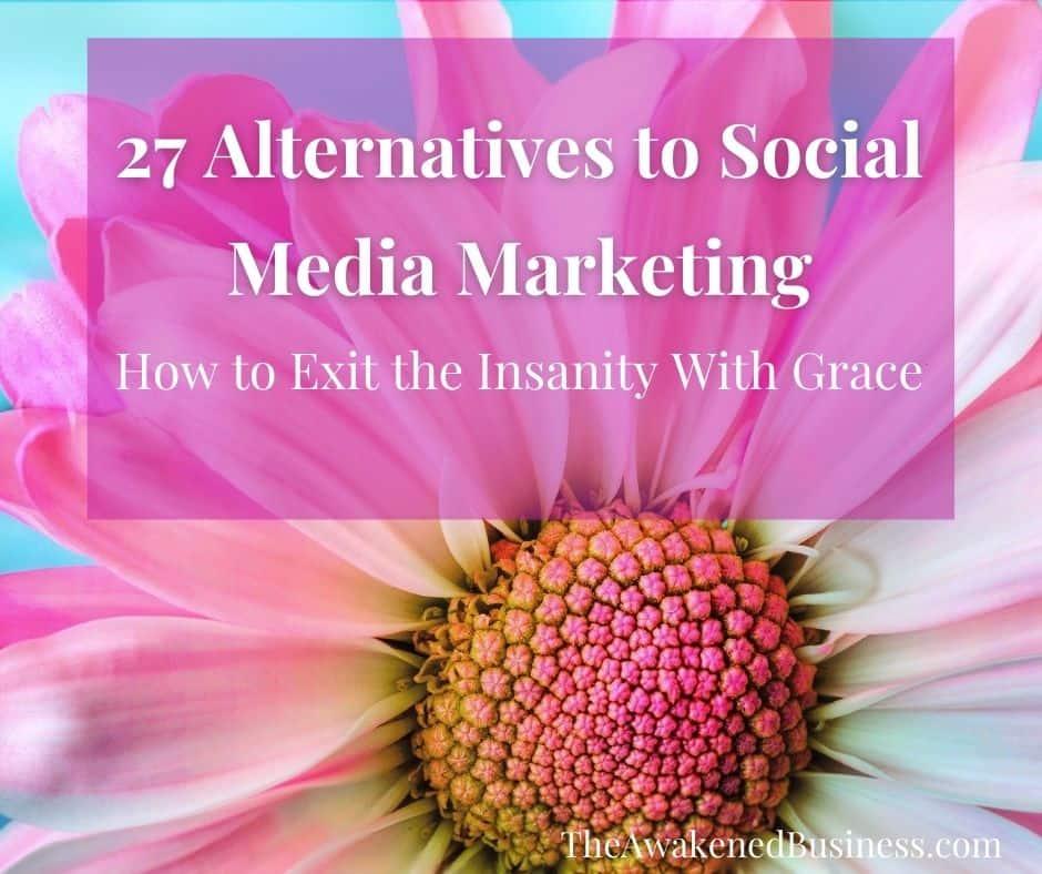 27 Alternatives to Social Media Marketing For Coaches