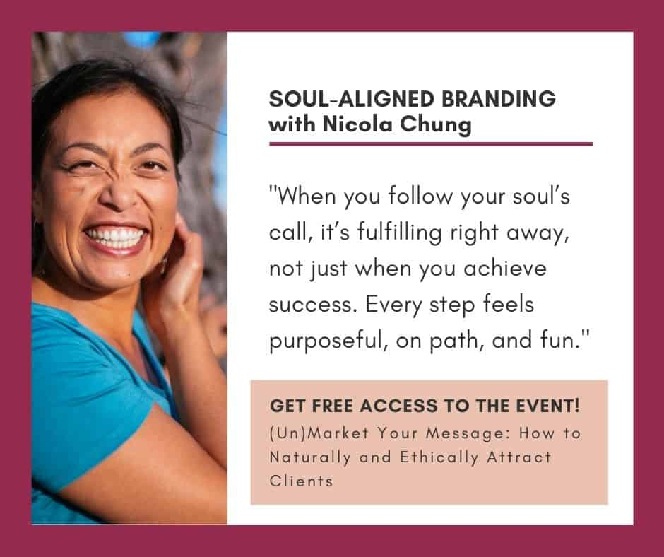 Soul-Aligned Branding with Nicola Chung