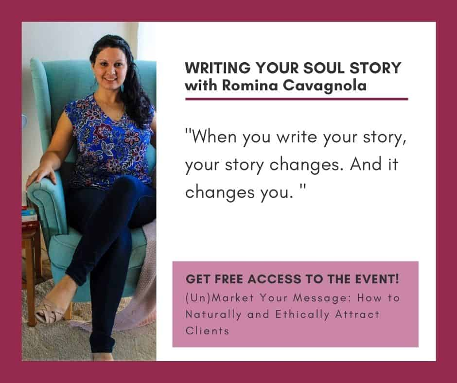 Writing Your Soul Story with Romina Cavagnola