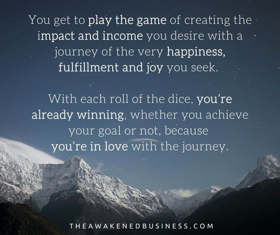 playing the game of changing the world with The Awakened Business